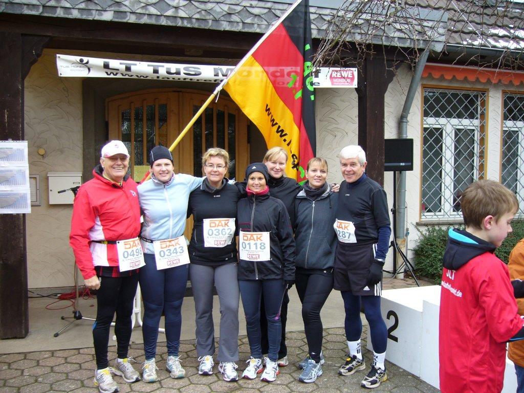 1. FC Spich Lauftreff - Weihnachtslauf in Mondorf